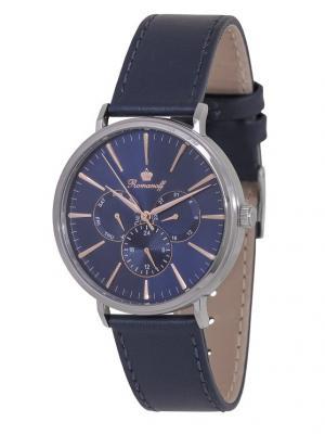 Часы наручные Romanoff. Цвет: темно-синий, серебристый, золотистый