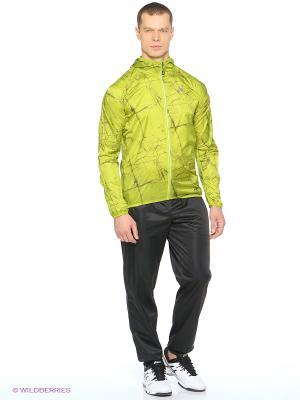 Куртка FujiTrail Pack Jkt ASICS. Цвет: салатовый, желтый, светло-желтый