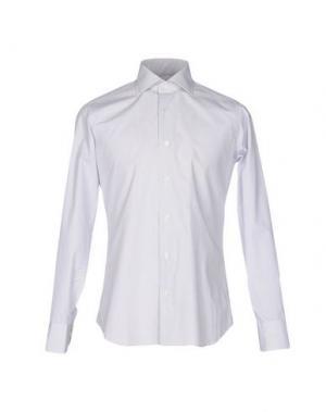 Pубашка GUGLIELMINOTTI. Цвет: светло-серый