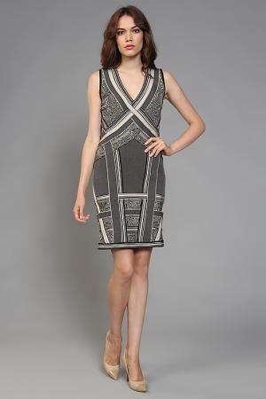 Платье Herve Leger. Цвет: черный