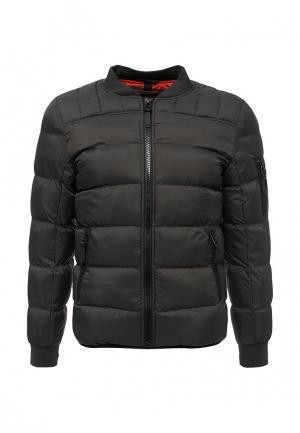 Куртка утепленная MeZaGuz. Цвет: серый