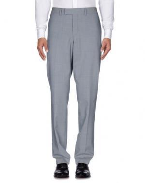 Повседневные брюки TIGER OF SWEDEN. Цвет: светло-серый
