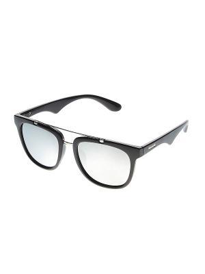 Солнцезащитные очки Infiniti. Цвет: черный, серебристый
