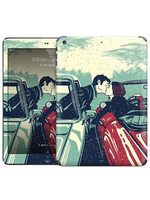 Наклейка на iPad Air Winters Kiss - El Jefe Design Gelaskins. Цвет: молочный, красный, бирюзовый