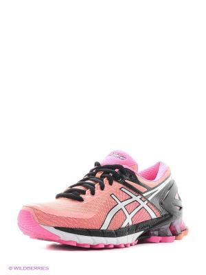 Спортивная обувь Ws GEL-KINSEI 6 ASICS. Цвет: розовый, серый, черный
