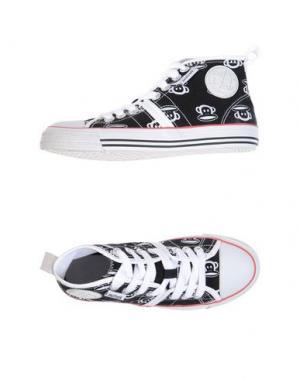 Высокие кеды и кроссовки PAUL FRANK. Цвет: черный
