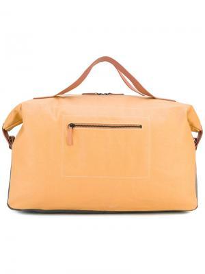 Дорожная сумка Cooper Ally Capellino. Цвет: жёлтый и оранжевый