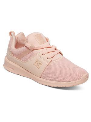 Кроссовки DC Shoes. Цвет: бледно-розовый