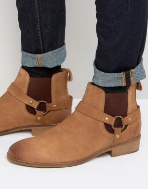 Dead Vintage Ботинки в стиле вестерн. Цвет: рыжий