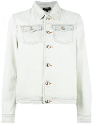 Denim jacket A.P.C.. Цвет: синий