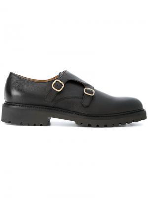Туфли-монки Doucals Doucal's. Цвет: чёрный