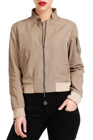 Куртка PAMELA MILANO. Цвет: серый