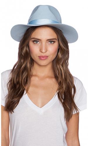 Шляпа vivid skies Lack of Color. Цвет: нежно-голубой