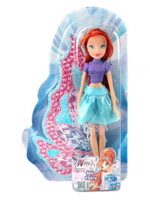Кукла Winx Club Городская магия-2, Bloom. Цвет: бирюзовый