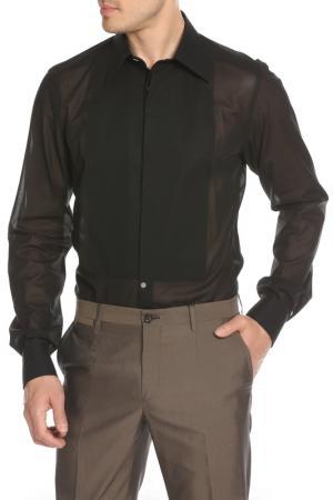 Рубашка DOLCE & GABBANA. Цвет: черный
