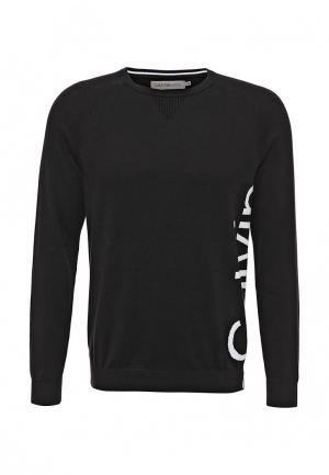 Джемпер Calvin Klein Jeans. Цвет: черный