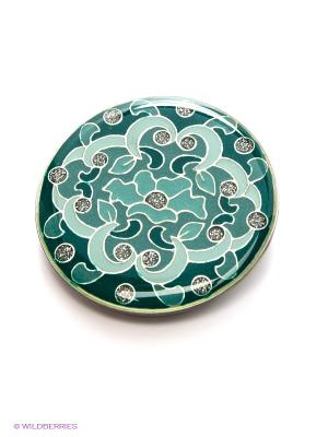 Зажим для шарфа Clara Bijoux. Цвет: зеленый
