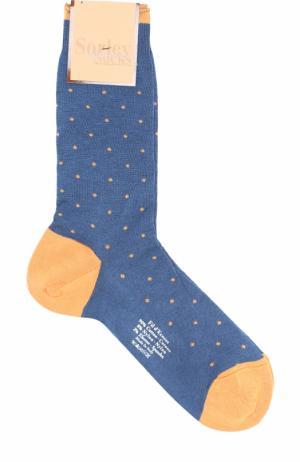 Хлопковые носки Sorley Socks. Цвет: оранжевый