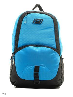 Рюкзаки SKECHERS. Цвет: голубой