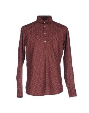 Pубашка MESSAGERIE. Цвет: красно-коричневый