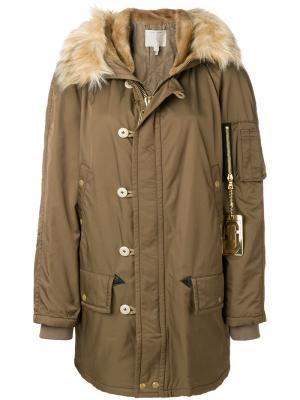 Пальто Snorkel Marc Jacobs. Цвет: коричневый