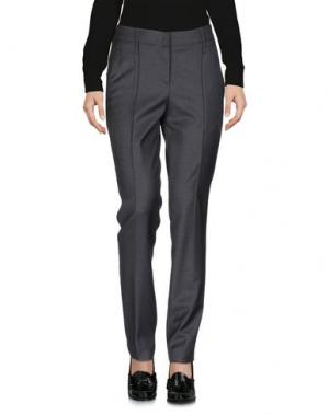 Повседневные брюки GUNEX. Цвет: свинцово-серый