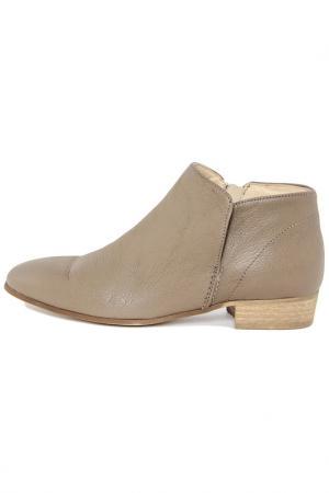 Ботинки PAOLA FERRI. Цвет: серый