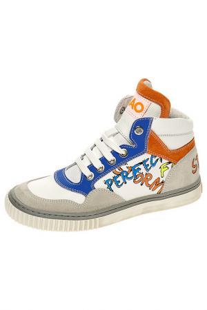 Ботинки CIAO. Цвет: белый, комбинированный