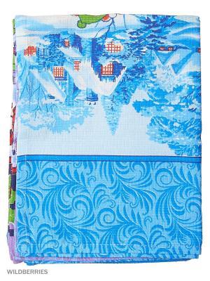 Комплект полотенец 50х70 Jardin. Цвет: синий, салатовый, сиреневый, красный, белый