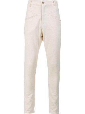 Спортивные брюки Du Nord Oyster Holdings. Цвет: телесный