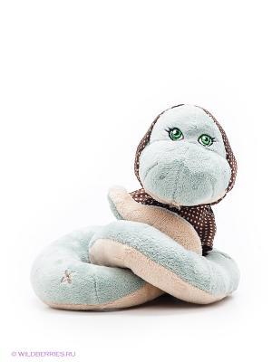 Игрушка Змея Натали ORANGE. Цвет: голубой
