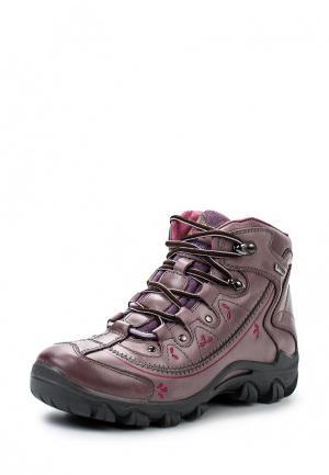 Ботинки трекинговые S-tep. Цвет: коричневый