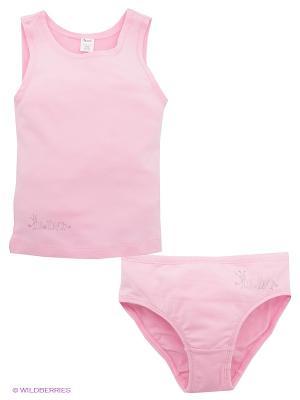 Комплект белья Arina. Цвет: розовый