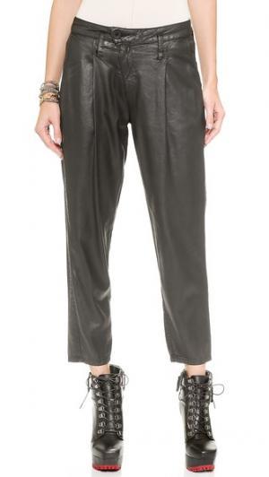 Укороченные брюки Drew DWP. Цвет: черный luca