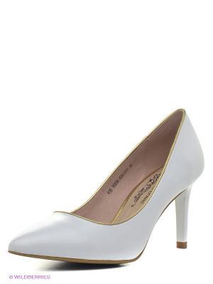 Туфли Francesco Donni. Цвет: белый