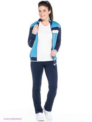 Спортивный костюм RED-N-ROCK'S. Цвет: голубой, темно-синий