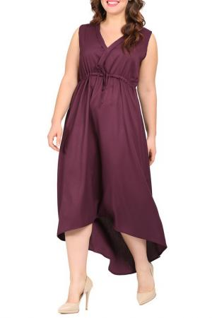 Платье VALERIA FRATTA. Цвет: vinous