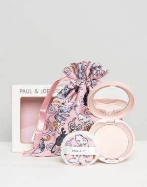 Paul & Joe Осветляющая компактная пудра ограниченной серии c шелковистой текстуро. Цвет: бежевый
