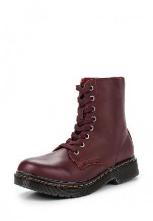 Ботинки CLAUDIA GHIZZANI. Цвет: бордовый