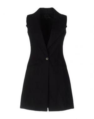 Легкое пальто ANDREW MACKENZIE. Цвет: черный