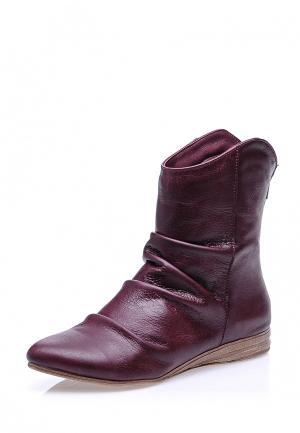 Полусапоги Bueno Shoes. Цвет: бордовый