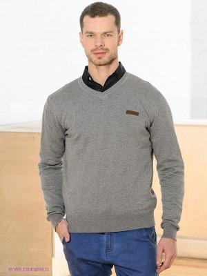 Пуловер HYDROPONIC. Цвет: серый