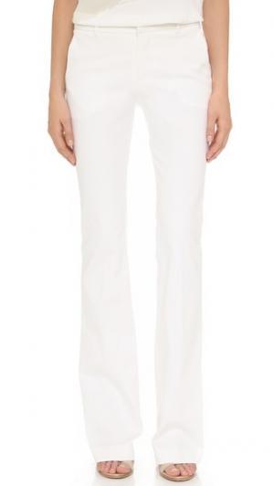 Расклешенные джинсы Tess Giberson. Цвет: белый