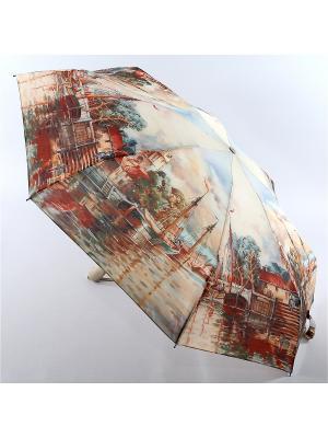 Зонт Zest. Цвет: светло-серый, серо-коричневый, темно-коричневый