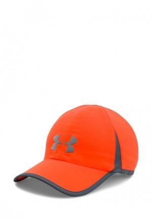 Бейсболка Under Armour. Цвет: оранжевый