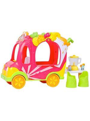 Игровой набор Смузи грузовичок и Тропическая Лили Moose. Цвет: розовый