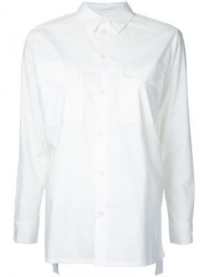 Рубашка  Farmer Toogood. Цвет: белый