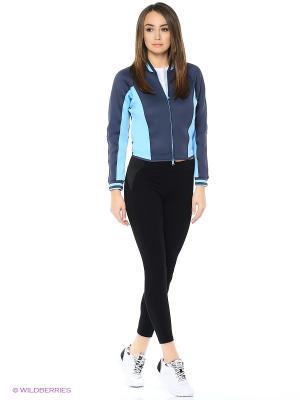 Ветровка SC SPACERBOMBER Adidas. Цвет: синий, голубой