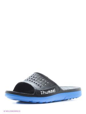 Шлепанцы HUMMEL SPORT SANDAL. Цвет: синий, черный