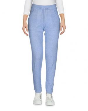 Повседневные брюки NOT SHY. Цвет: лазурный